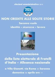 presentazione_lista_Fratelli-d'Italia-Saronno
